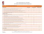 Roco CS Entry Quick Reference Checklist
